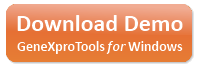 Download a free trial of GeneXproTools